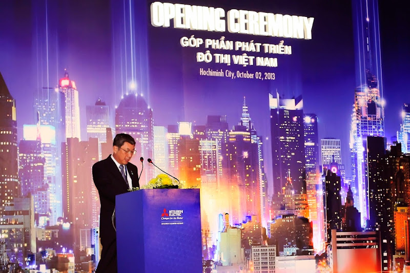 Lễ khánh thành công ty TNHH thang máy Mitsubishi Việt Nam