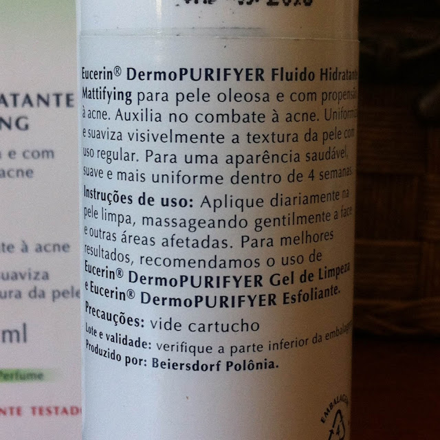 Dermo PURIFYER Fluido Hidratante Mattifying - Eucerin