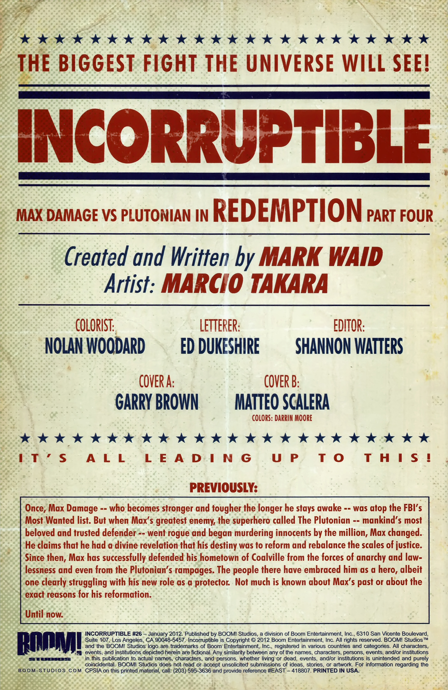 Read online Incorruptible comic -  Issue #26 - 3