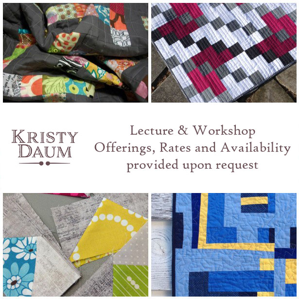 St. Louis Folk Victorian // Kristy Daum - Lecture & Workshop Offerings, Rates and Availability proved upon request   #quiltinginstructor #quiltingteacher #quilting #lectures #workshops #modernquilting