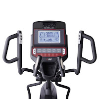 "Sole E55's 9"" backlit LCD display with Bluetooth to transfer your workout data to your smart device using free Sole app or Fitbit, Record, Mapmyrun, Apple Health"