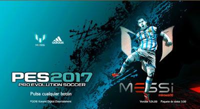 PES 2017 New Theme Graphic Menu by JAS