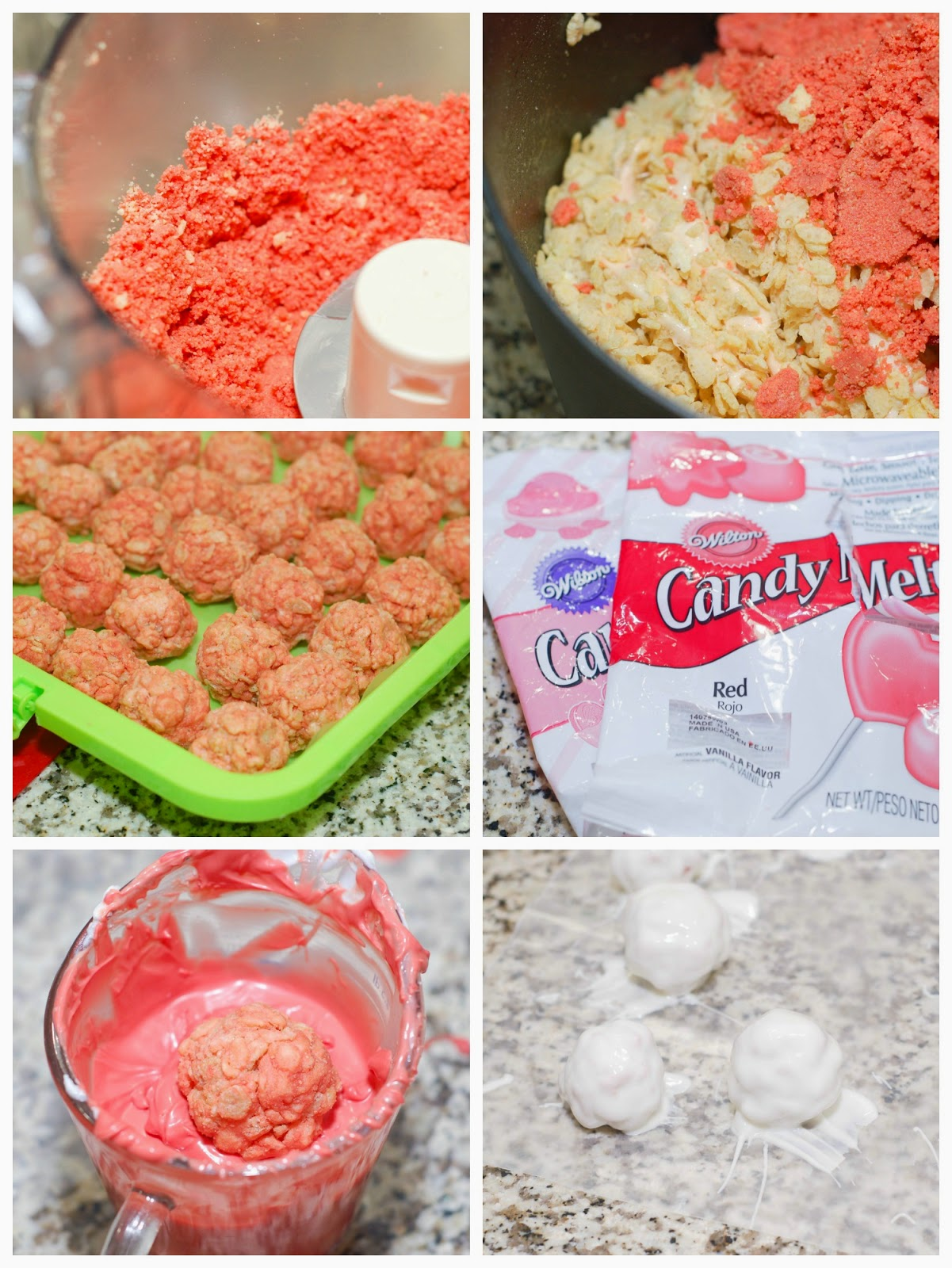 Making Fruit Punch Truffles by The Sweet Chick