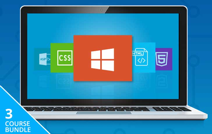 Microsoft Front-End Developer Training Course Bundle