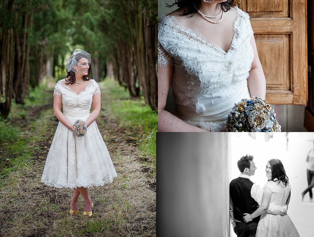 Lace Wedding Gowns: Choose Your Fashion Style: Bridal Look Inspiration:Short