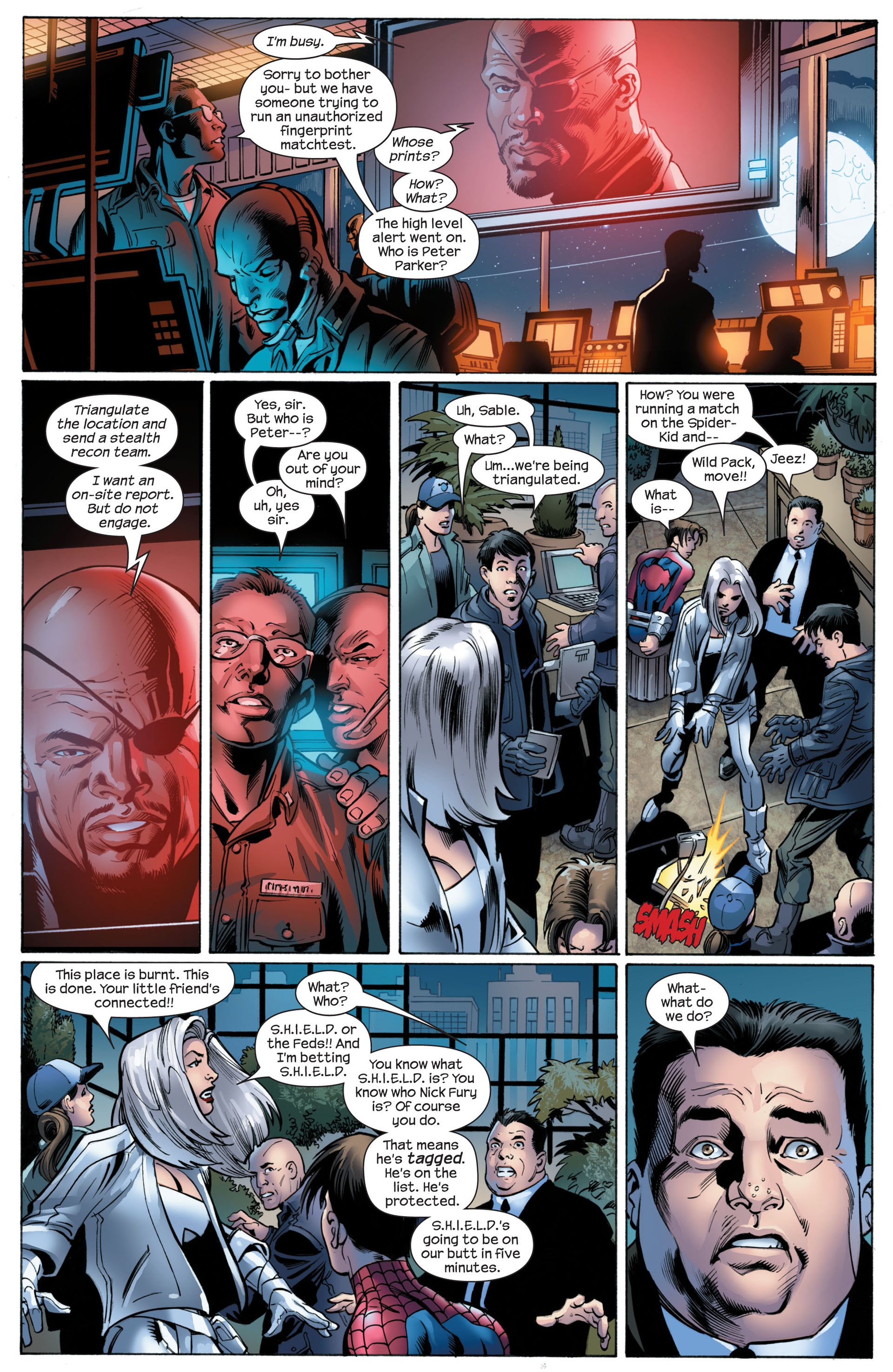 Read online Ultimate Spider-Man (2000) comic -  Issue #89 - 12