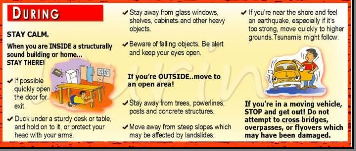 Noypistuff: what to do during an earthquake