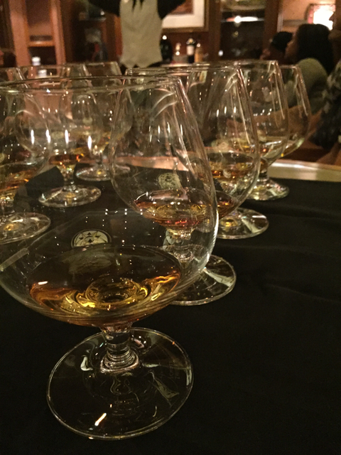We tried four whiskeys, learning about how they were made, the qualities of the liquor, the flavors and even some marketing secrets.
