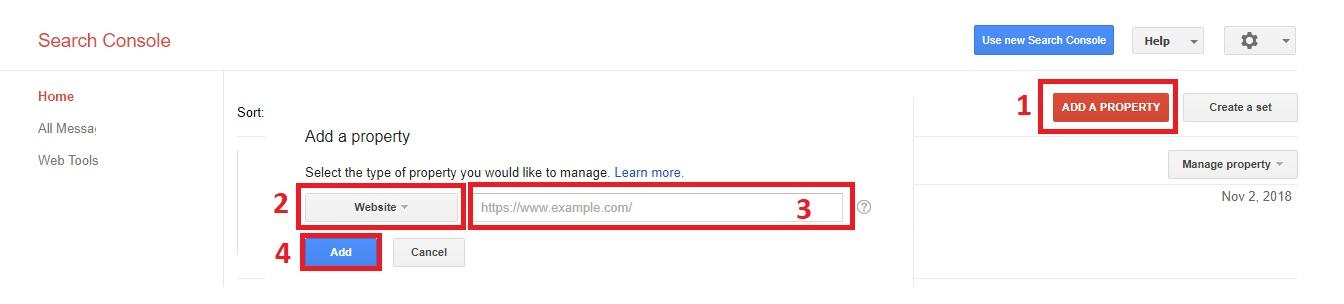 Blogger Blog को Google Search Console में  कैसे  Submit करें