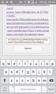 Submit Kode Enkripsi