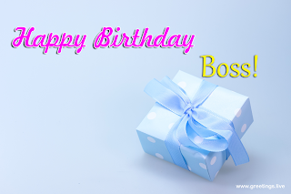Happy Birthday gift Images for Boss!