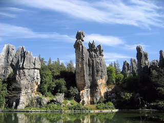 Shilin - The Stone Forest 004