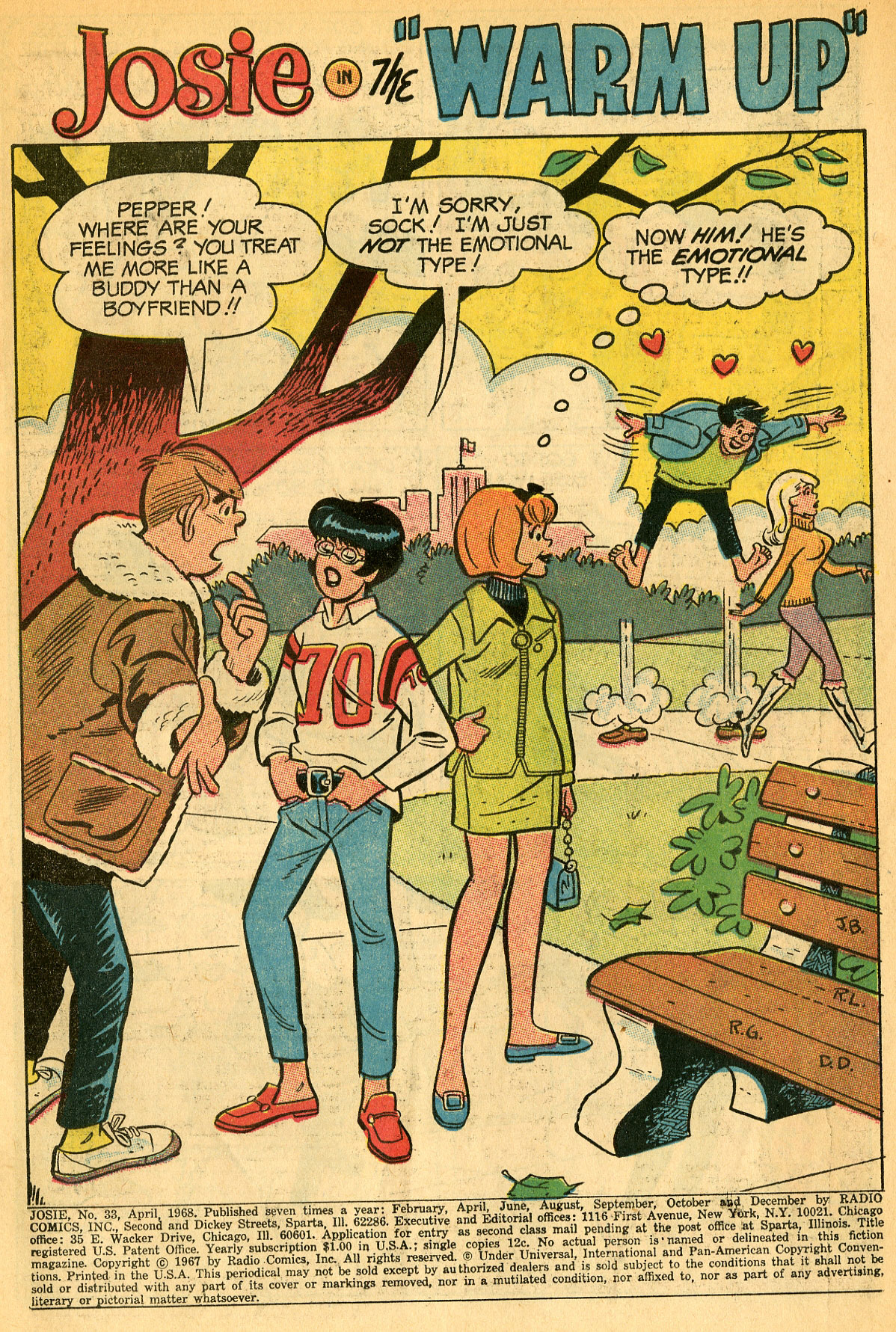 Read online She's Josie comic -  Issue #33 - 3