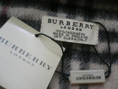 Fake Burberry Scarf