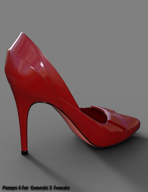 Pumps 4 for Genesis 3 Female