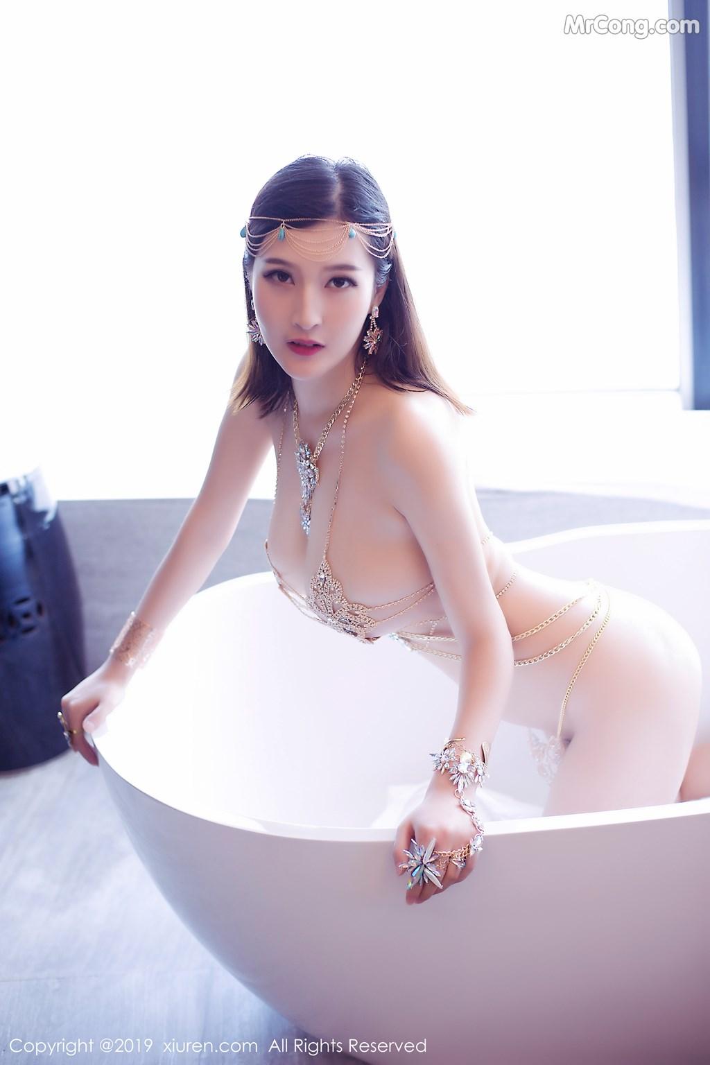 Image XIUREN-No.1409-Alina-MrCong.com-010 in post XIUREN No.1409: 双笙Alina (46 ảnh)