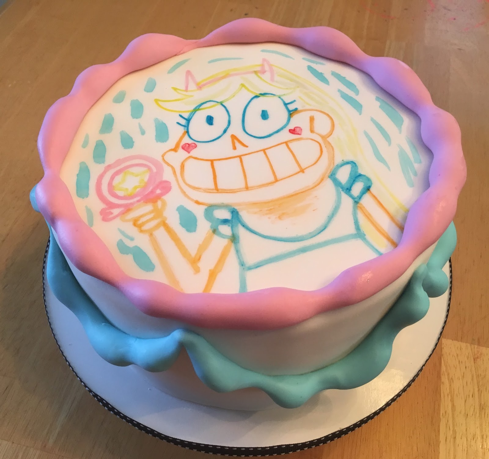 Cakes by Becky: Star Vs the Forces of Evil (cake!)