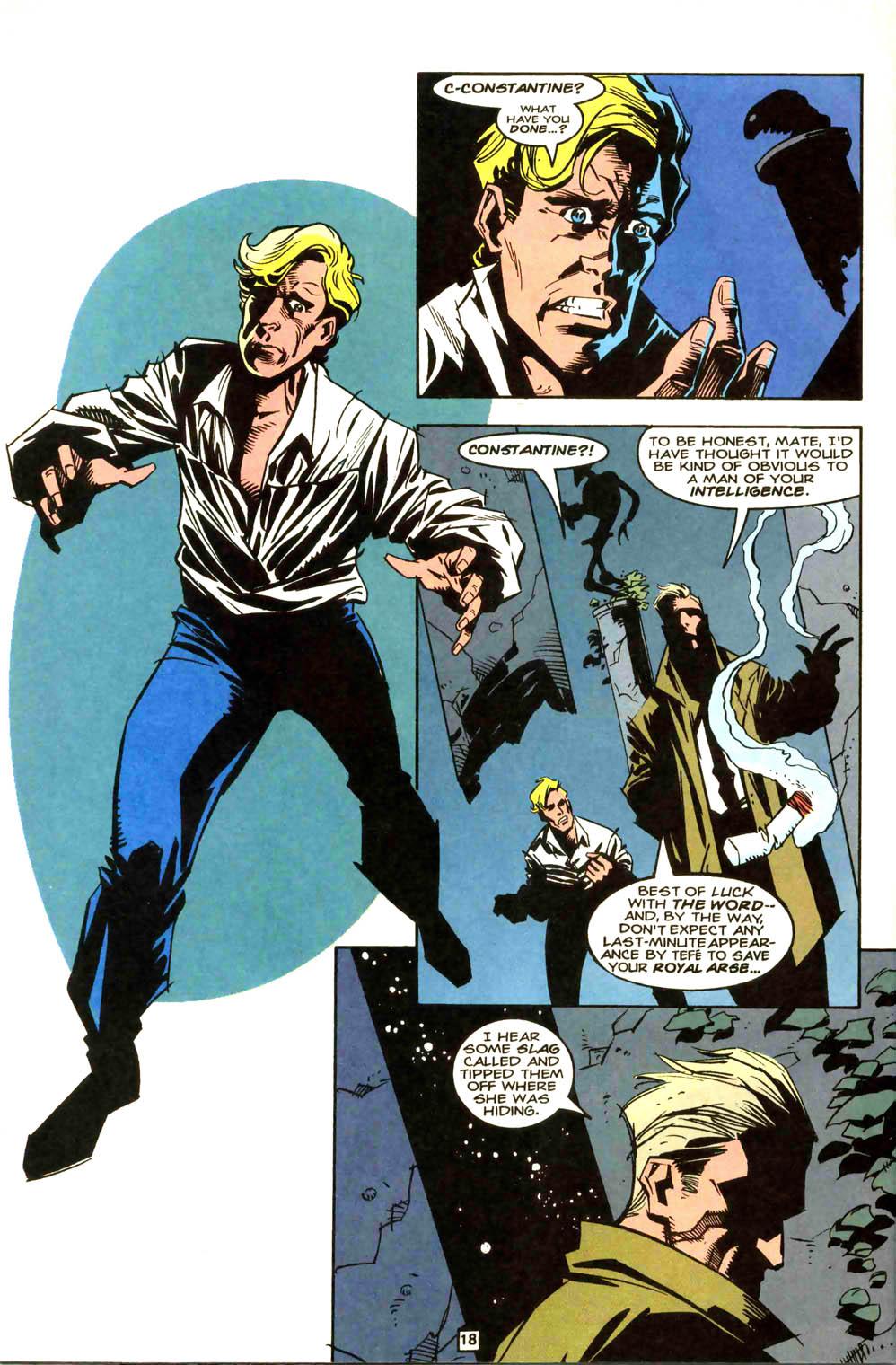 Swamp Thing (1982) #169 #177 - English 19