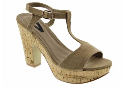 Sandalias de tacón para mujeres