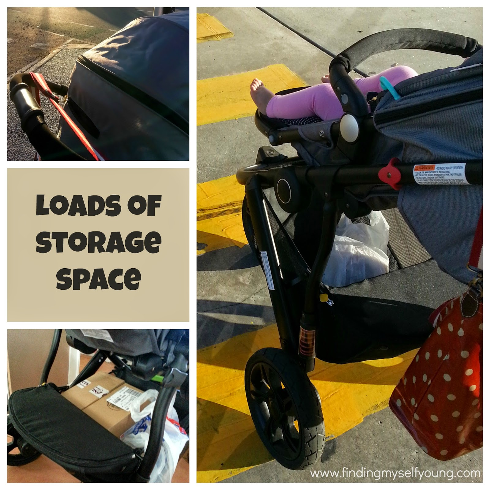 Safety 1st Wanderer pram storage space