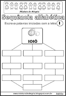 Sequência alfabética letra I