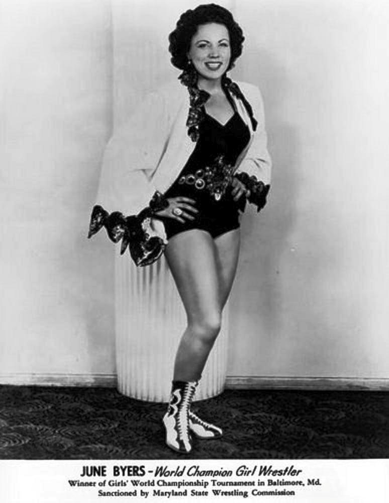 Classic Ladies Wrestling Profile - June Byers-3792