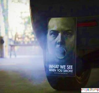 Guerilla Marketing - Anti-Smoking Campaign