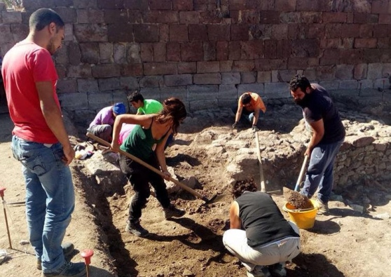 2017 excavations at the Basilica di Sant'Antioco of Bisarcio in Ozieri, Sardinia