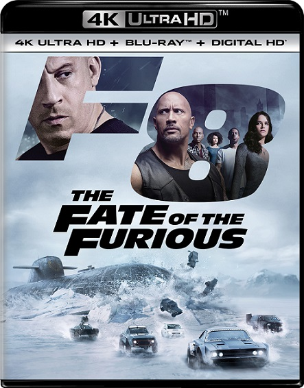 The Fate of The Furious 4K (Rápidos y Furiosos 8) (2017) 2160p 4K UltraHD HDR BluRay REMUX 43GB mkv Dual Audio DTS-X 7.1 ch