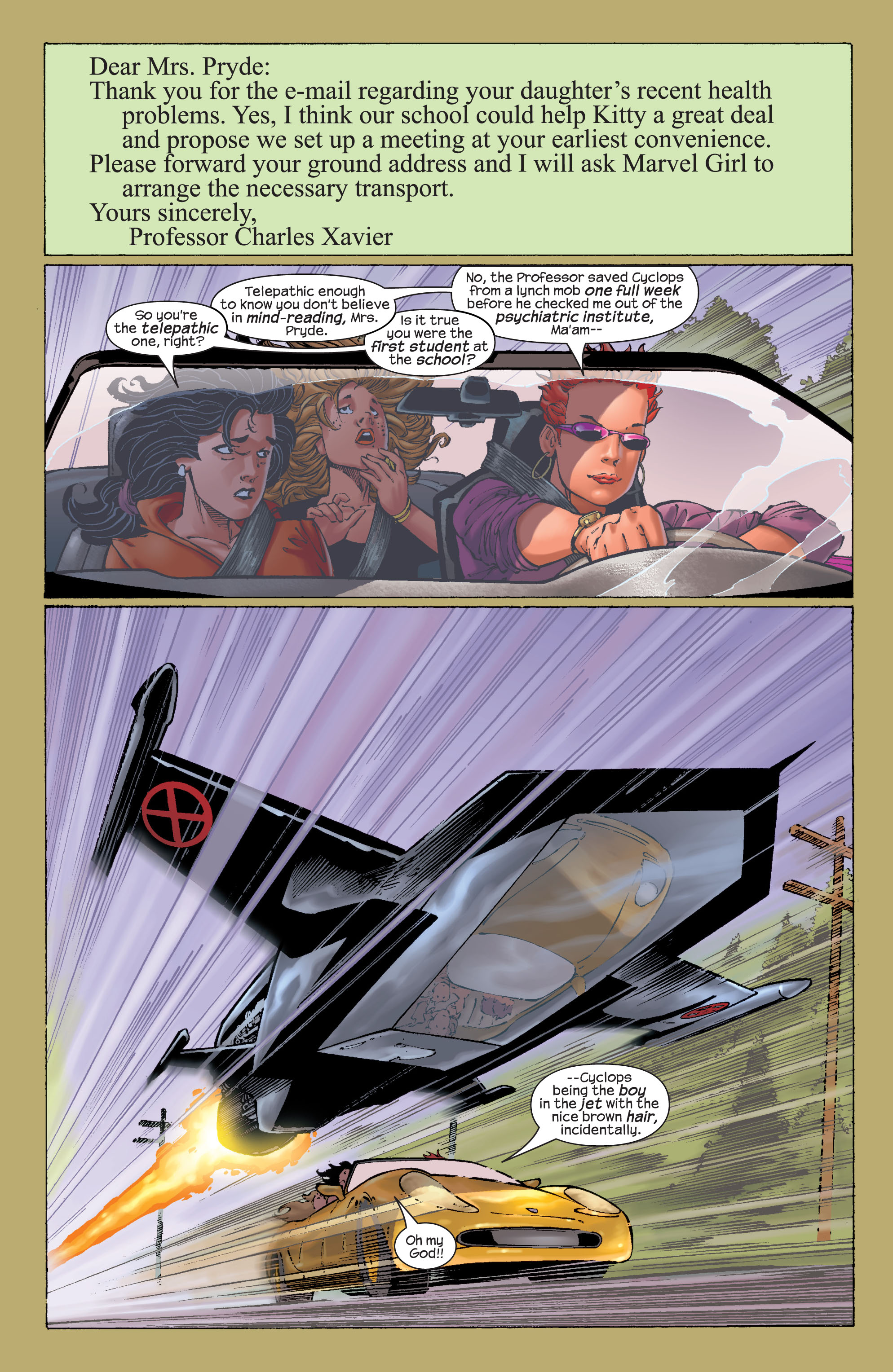 Read online Ultimate X-Men comic -  Issue #21 - 8