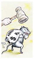 tikus koruptor1 Fitra Rilis 13 Pemda Terkorup di Sumut Paluta Terkorup di Tabagsel