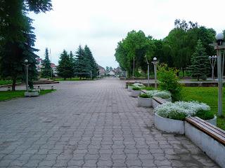 Ходоров. Майдан Шевченко