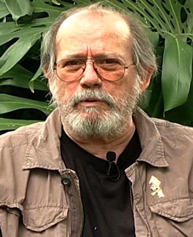 Foto de Silvio Rodríguez con barba