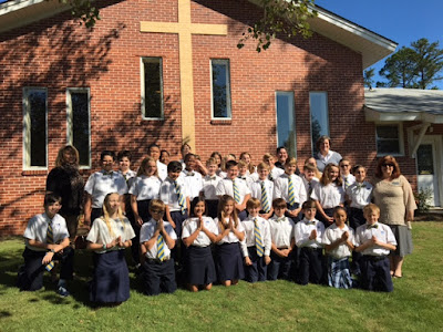 Montgomery Catholic Students Visit Dominican Monastery in Marbury 2