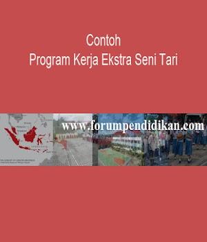 Contoh Program Kerja Ekstra Seni Tari | Contoh Program Kerja