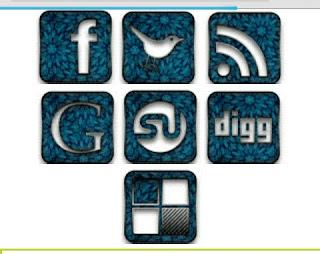 Social share button html/javascript code 6