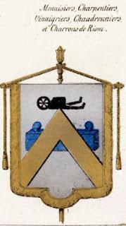 Bannières des Charrons de Riom, Auvergne