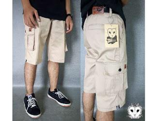 celana pendek pria, celana pendek, celana pria pendek, celana cargo pendek