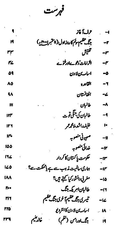 The Story Afghan Taliban America War in Urdu