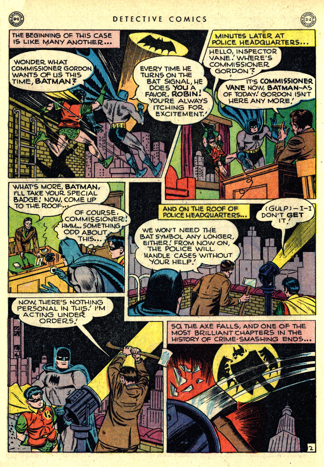 Detective Comics (1937) 121 Page 3