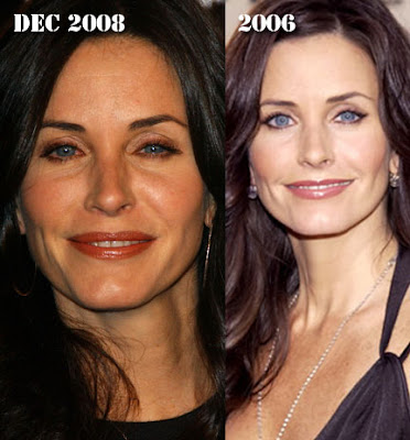 Courtney Cox Plastic Surgery Before And After Boob Job