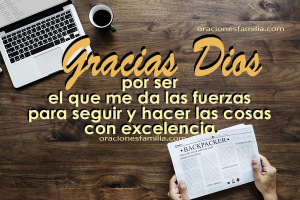 imagen de gracias a Dios por mi trabajo, accion de gracias en oracion por Mery Bracho