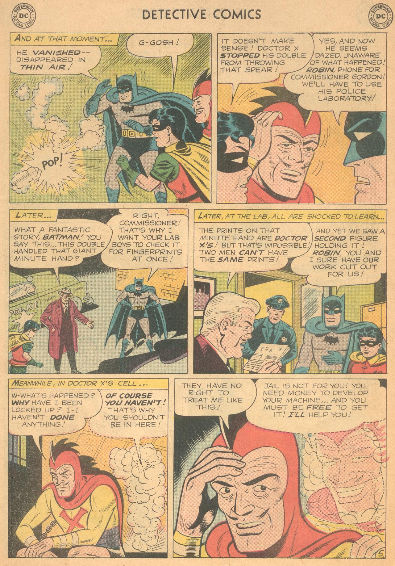 Read online Detective Comics (1937) comic -  Issue #261 - 7
