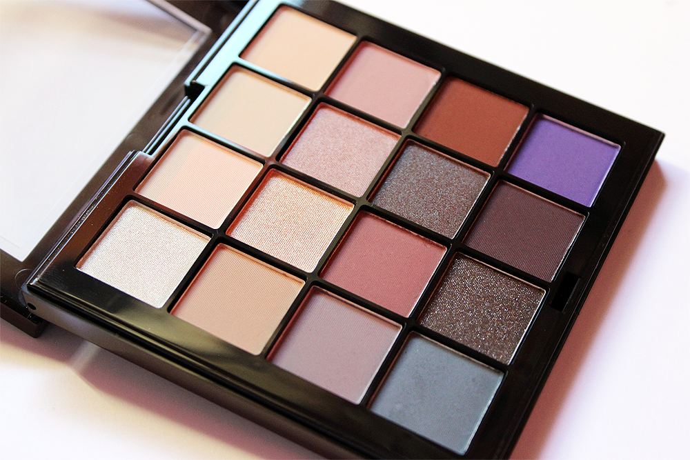 NYX Cosmetics Ultimate Cool Neutrals Shadow Palette swatches and review