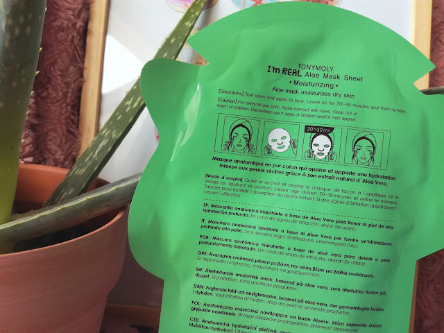 Aloe Face Mask Sheet de Tony Moly