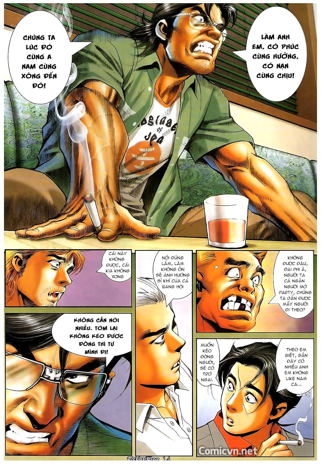 Người Trong Giang Hồ - Chapter 1216: Tráng Sĩ - Pic 11