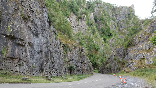 Cheddar gorge on my lands end to john o'groats hike