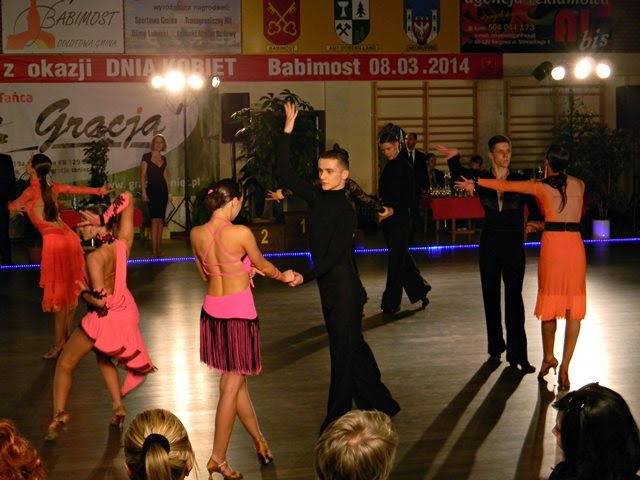 konkurs, sala taneczna, gracja