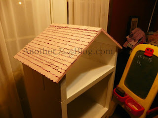 Another Daily Blog Homemade Barbie House Out Of Re