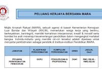 Jawatan Kosong di Majlis Amanah Rakyat MARA - Pegawai Perkhidmatan Pendidikan DG41 | Pelbagai  Subjek